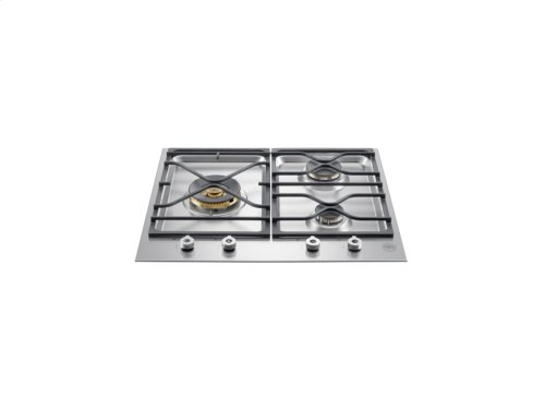 24 Segmented cooktop 3-burner Stainless