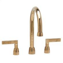 "Lav. Deck Mount Faucet (12 7/8"") Bronze Dark Lustre"