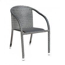 Spectrum Stackable Woven Armchair