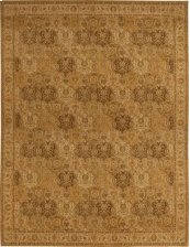 HARD TO FIND SIZES GRAND PARTERRE PT04 GOLD RECTANGLE RUG 12' x 15'