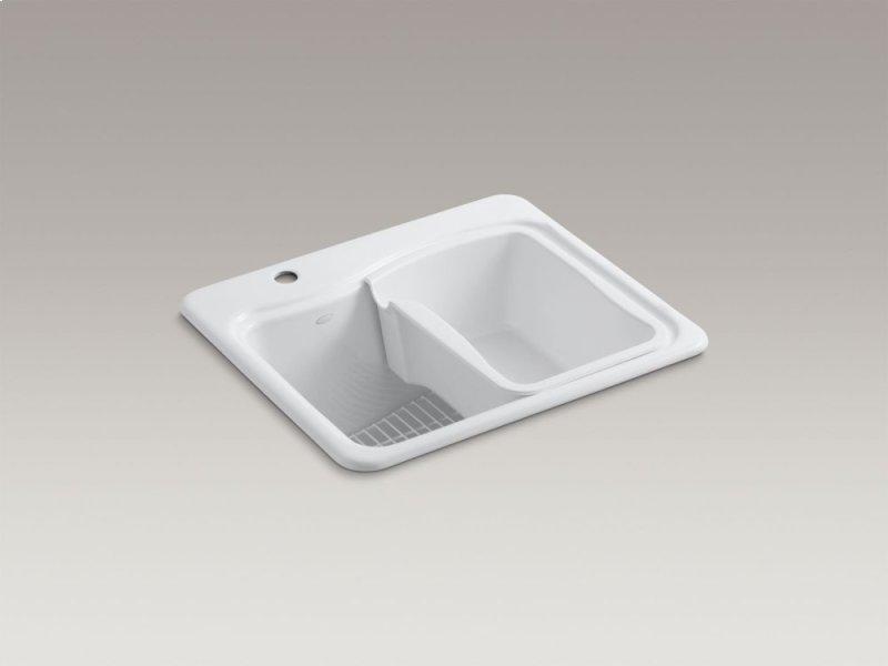 K665710 in White by Kohler in Atlanta, GA - White Top-mount Utility ...