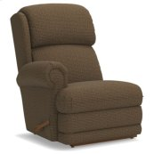 Kirkwood Right-Arm Sitting Reclina-Rocker® Recliner w/ Brass Nail Head Trim