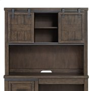 Double Barn Door Hutch Product Image