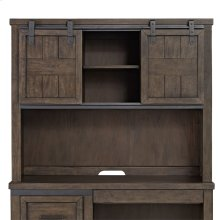 Double Barn Door Hutch