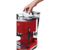 Icona Manual Espresso Machine - ECO 310 - Red
