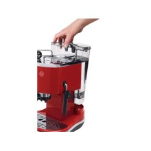 Icona Manual Espresso Machine - Red ECO310R