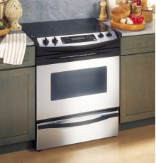 "GE Profile 30"" Slide-In Convection Range"