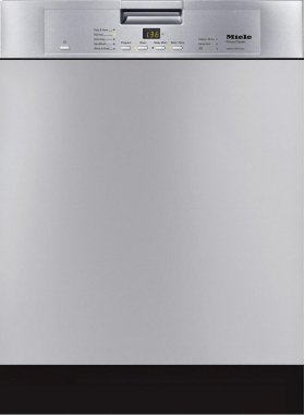 G 4228 SCU AM Pre-finished, full-size dishwasher with visible control panel, cutlery tray and 5 Programs