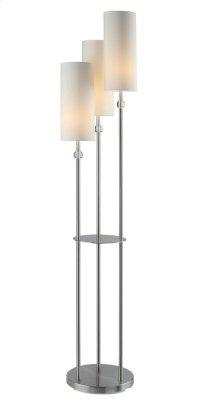 """Bolivar 3 Arm Floor Lamp 64""""Ht"""