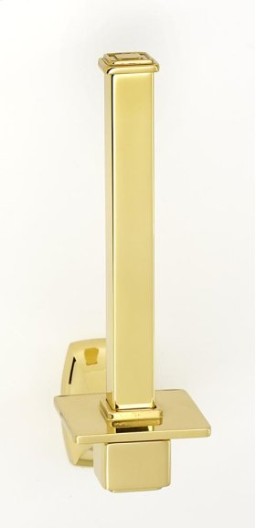 Cube Reserve Tissue Holder A6567 - Polished Brass