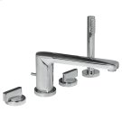 Moments Deck-Mount Bathtub Faucet - Polished Chrome Product Image
