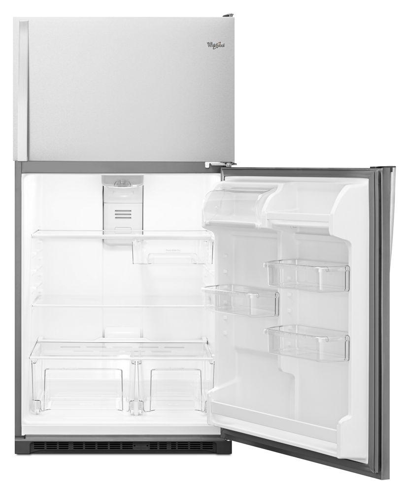 Wrt311fzdm Whirlpool 33 Inch Wide Top Freezer Refrigerator