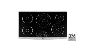 "LG STUDIO - 36"" Electric Cooktop"