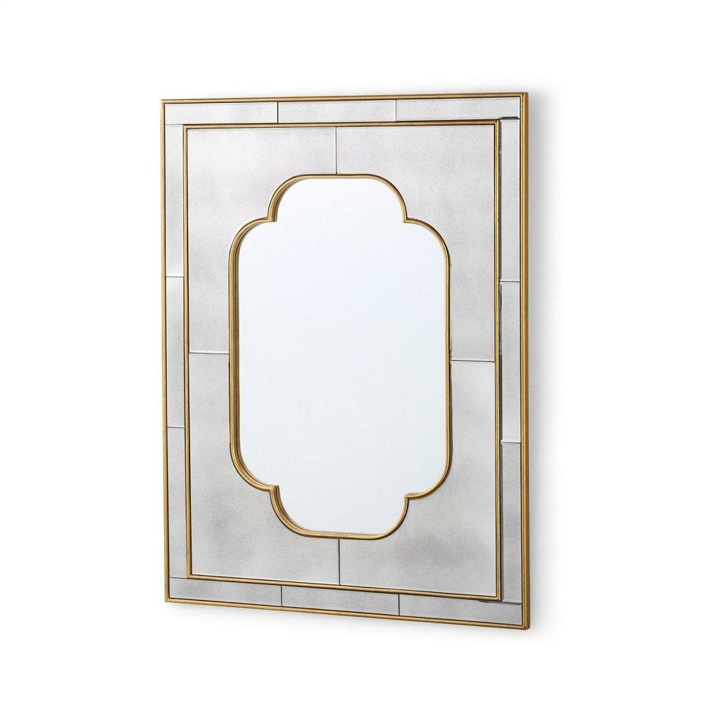 Cassia Large Mirror, Antique Mirror