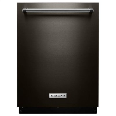 KitchenAid® 39 DBA Dishwasher with Fan-Enabled ProDry™ System and PrintShield™ Finish - Black Stainless Product Image
