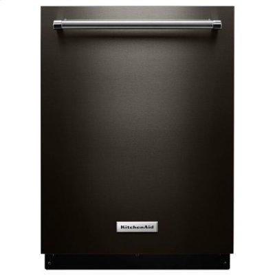 KitchenAid® 39 DBA Dishwasher with Fan-Enabled ProDry™ System and PrintShield™ Finish - Black Stainless Product Image