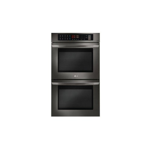 LG Black Stainless Steel Series 9.4 cu. ft Total Capacity Double Wall Oven