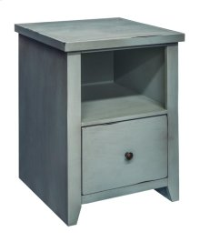 Calistoga Blue File Cabinet