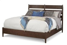 Epicenters Queen Silver Lake Slat-back Bed