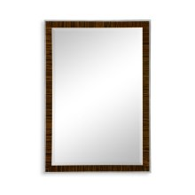 Art Deco Style Faux Macassar Ebony Mirror