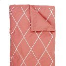 Calypso Duvet Cover & Shams, RED, KING Product Image