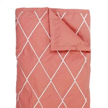 Calypso Duvet Cover & Shams, RED, KING