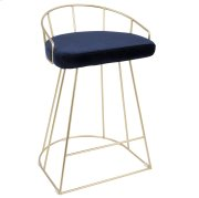 Canary Counter Stool - Gold / Blue Product Image