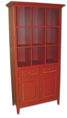Display & Storage Cab - Red