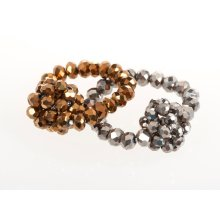 BTQ Beaded Rings - Set of 2