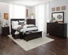 Kona Grove 4 Piece King Bedroom Set: Bed, Dresser, Mirror, Chest
