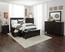 Kona Grove 4 Piece King Bedroom Set: Bed, Dresser, Mirror, Chest