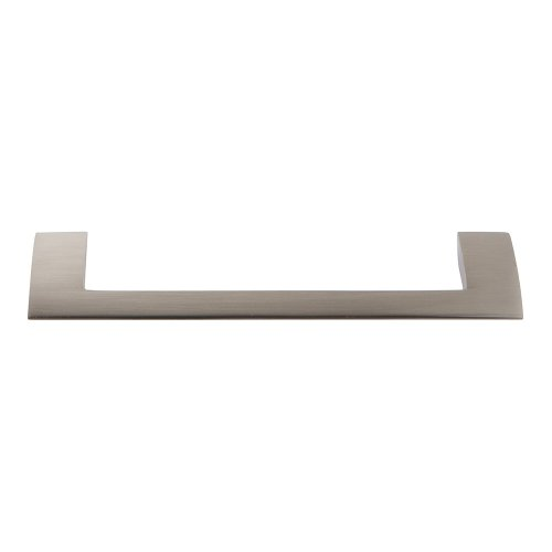 Angled Drop Pull 5 1/16 Inch (c-c) - Brushed Nickel