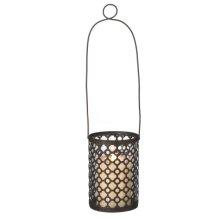 Hanging Geometric Pillar Lantern