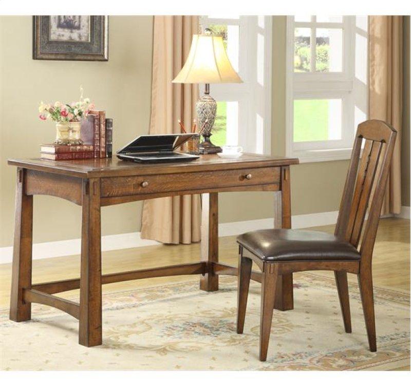 Additional Craftsman Home Writing Desk Americana Oak Finish