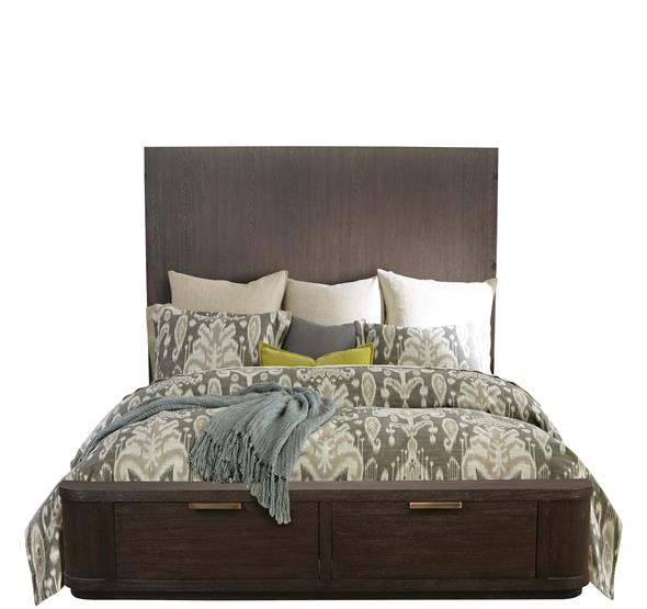 Precision King/California King Tall Headboard Umber Finish