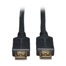 High Speed HDMI Cable, Ultra HD 4K x 2K, Digital Video with Audio (M/M), Black, 25-ft.