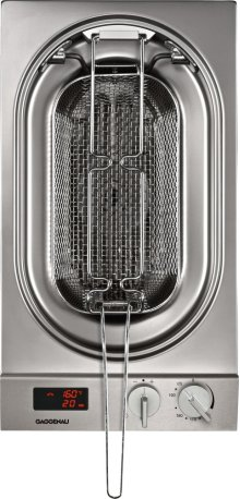 Vario electric deep fryer 200 series VF 230 614 Stainless steel control panel Width 12 ''