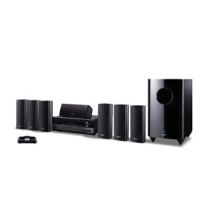 ONKYO7.1-Channel Home Theater Package with iPod® Dock