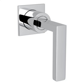 Polished Chrome Wave Trim For Volume Control with Metal Lever