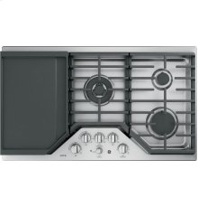 "GE Café Series 36"" Built-In Gas Cooktop"