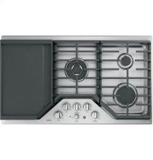 "GE Cafe™ Series 36"" Built-In Gas Cooktop"