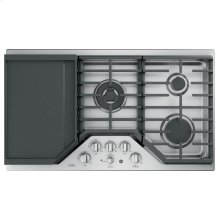 "GE Cafe™ Series 36"" Built-In Gas Cooktop"