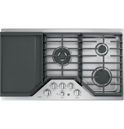 "GE Café Series 36"" Built-In Gas Cooktop Product Image"