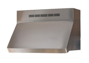 "Centro - 42"" Stainless Steel Pro-Style Range Hood with internal/external blower options"
