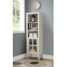 Hilton Bookcase with Door