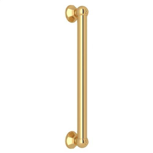 "Italian Brass 18"" Palladian Decorative Grab Bar"