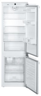 "24"" Integrated fridge-freezer combination with BioCool and NoFrost Product Image"