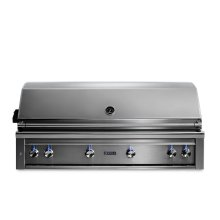 "54"" Lynx Professional Built In Grill with 1 Trident and 3 Ceramic Burners and Rotisserie, LP"