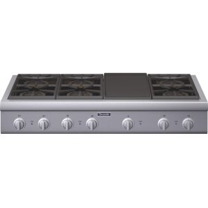 Thermador48-Inch Professional Rangetop PCG486GD