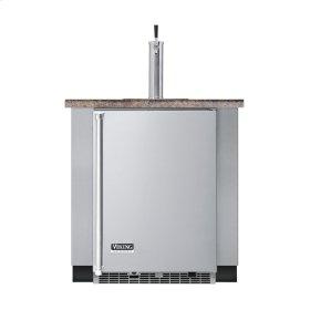 "Stainless Steel 24"" Built-in Beverage Dispenser - VUBD (Right Hinge Door)"
